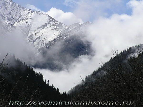 Горы в Алматы.