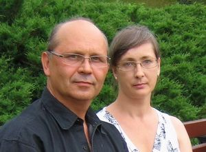 Это мы: Владимир и Ольга. Строительство мансарды – мы превратили мечту в реальность. Отдыхаем.