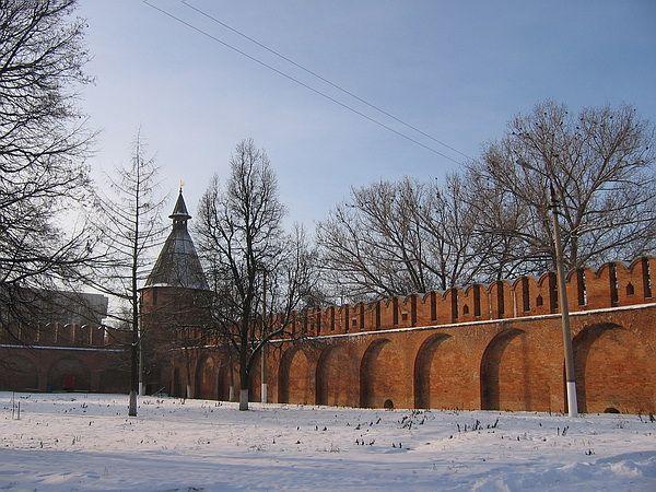 Угловая башня Тульского кремля