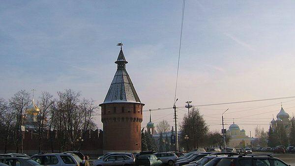 Вид на кремль с площади