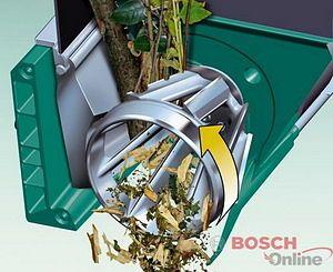 Рабочий механизм Bosch AXT 25 TC.