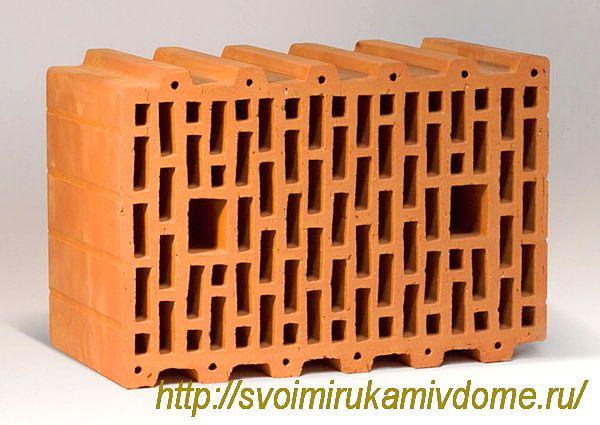 38 блок керамический BRAER.  Керамические блоки.