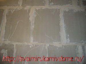 Стена из плит