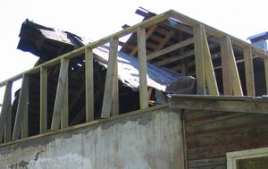 Строительство мансарды, ломаем крышу