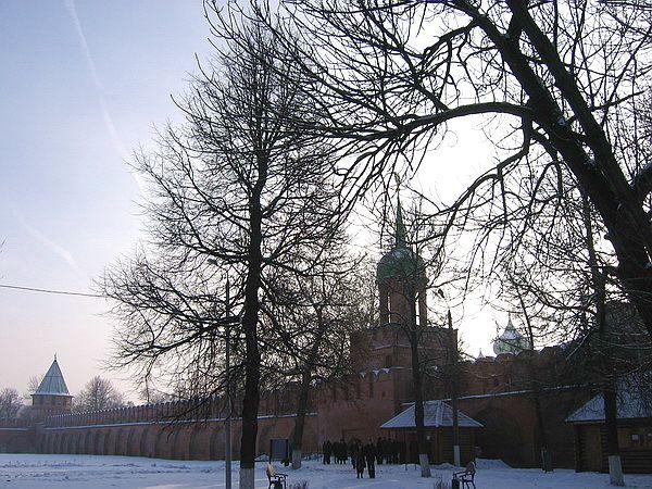 Башни кремля в Туле
