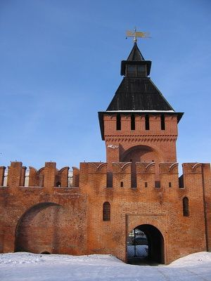Башня пятницких ворот, Тула