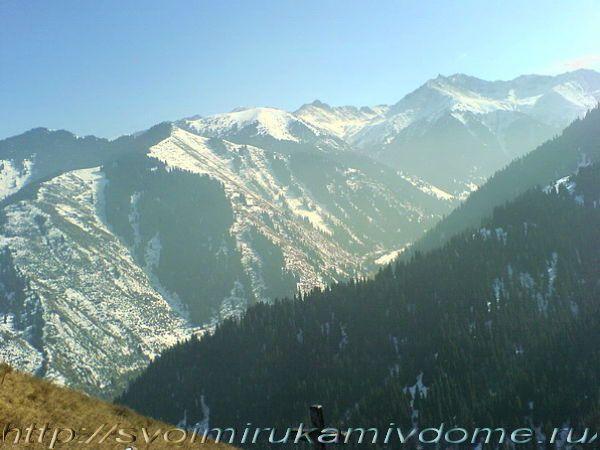 Горные вершины Алатау