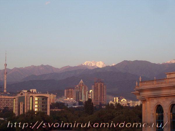 Последние лучи солнца, Алмата