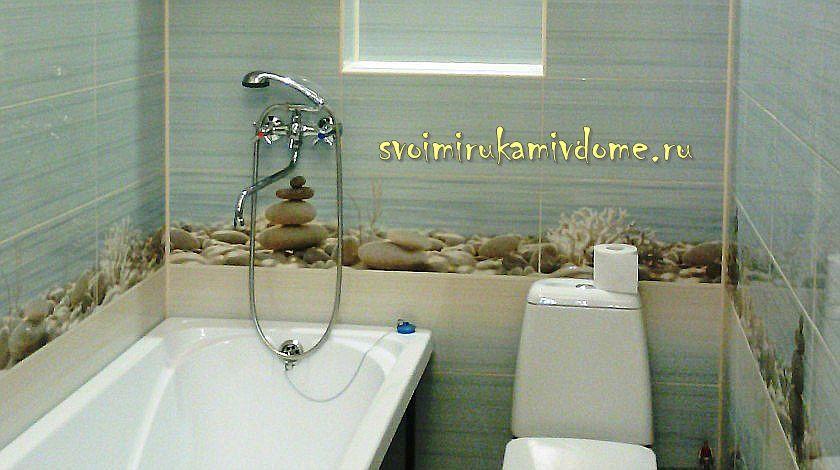 Ванная комната своими руками в частном доме, фото