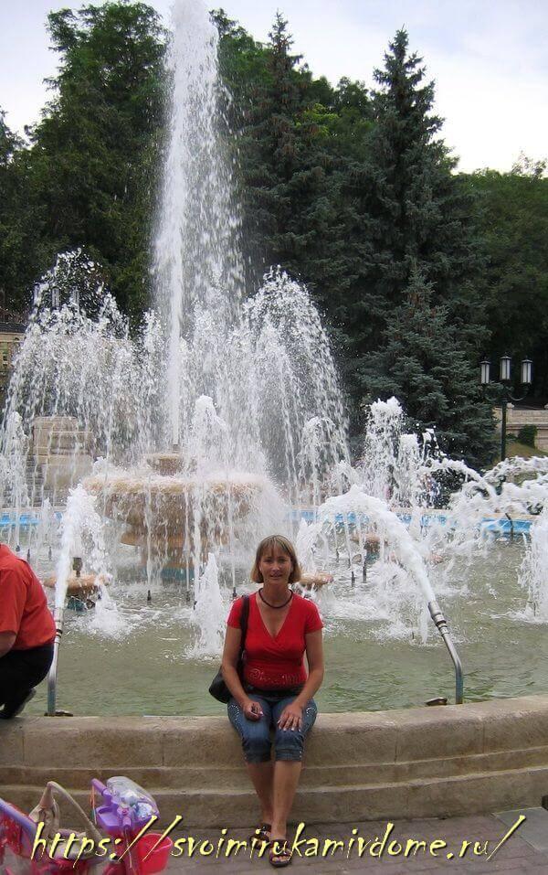 Фонтан в Курортном парке