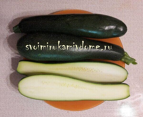 Плоды кабачка Мурзилка