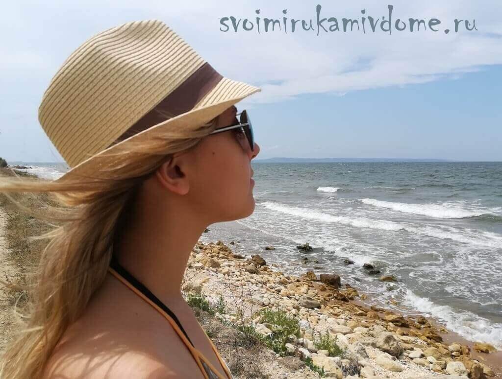 Фото на берегу Азовского моря