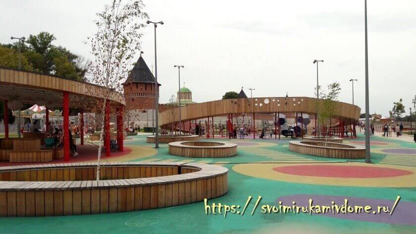 Скейт-парк на набережной Тулы