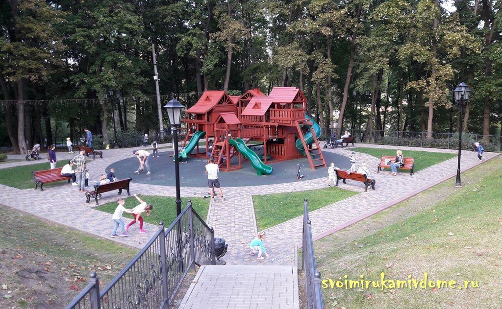 Детская площадка в Платоновском парке, Тула