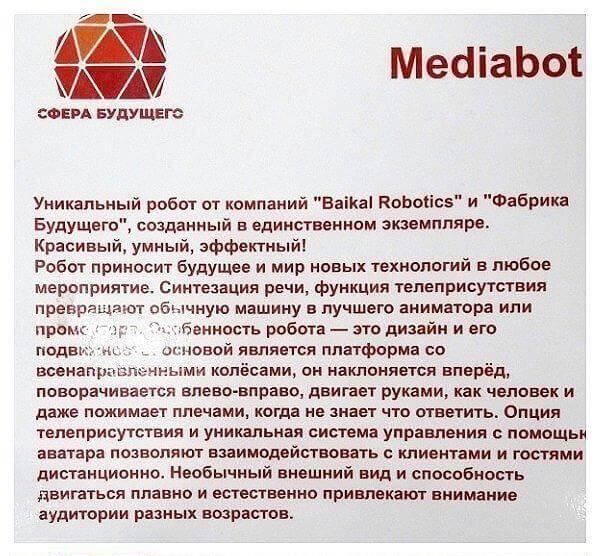 """Описание медиабота в парке """"Патриот"""" Тулы"""