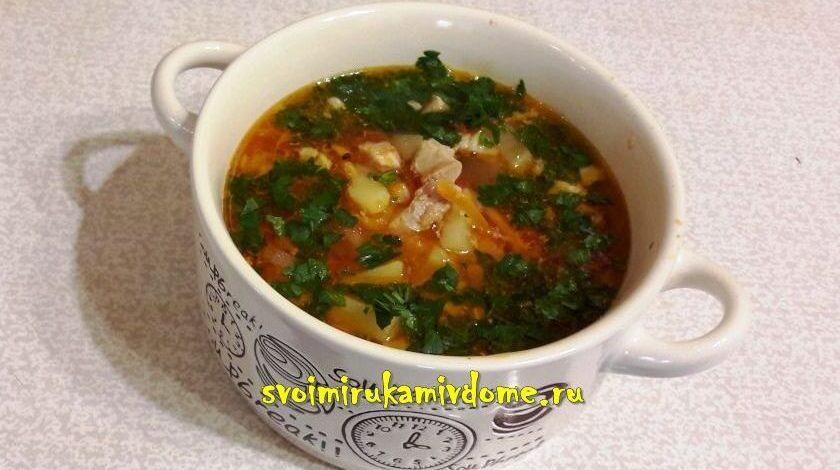 Суп с картошкой – 3 рецепта, просто и вкусно