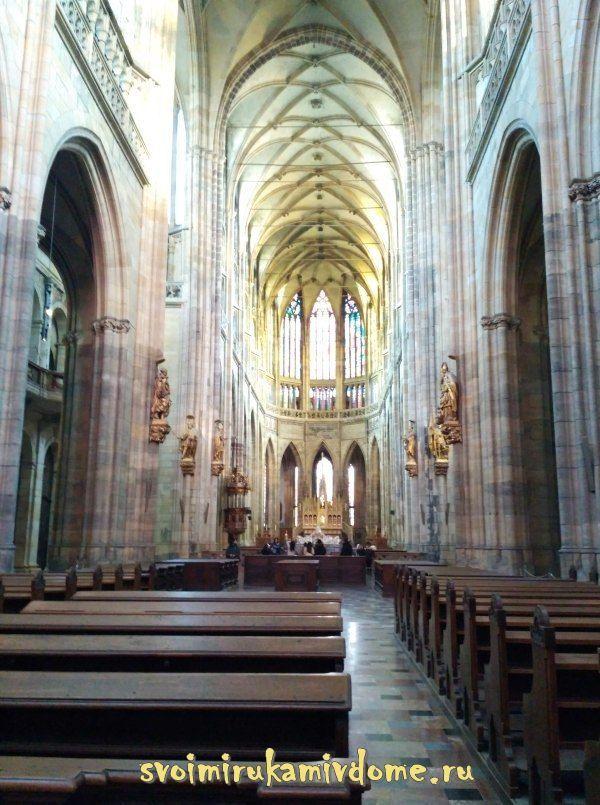 В соборе Святого Вита, Прага