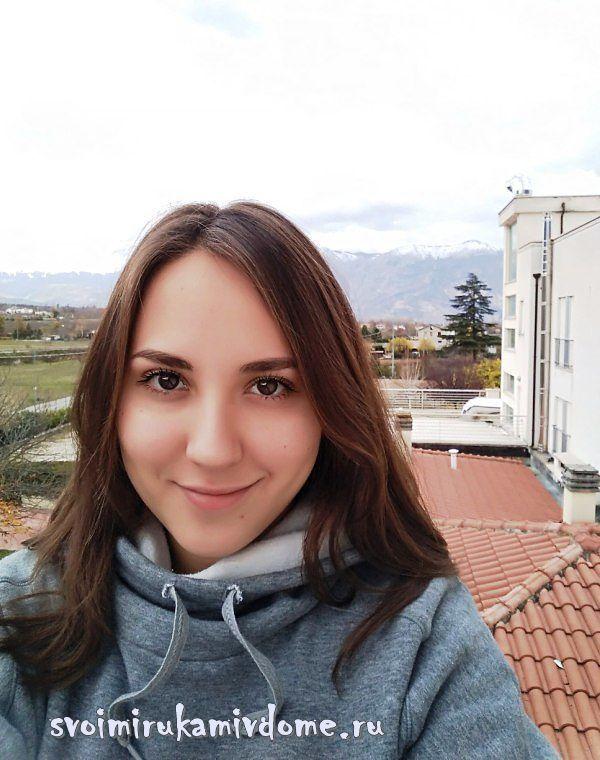 Селфи в итальянском городе