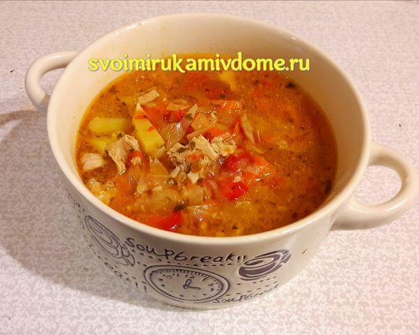 Щи из свежей капусты со свининой — рецепт с фото пошагово