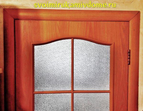 Дверь установлена