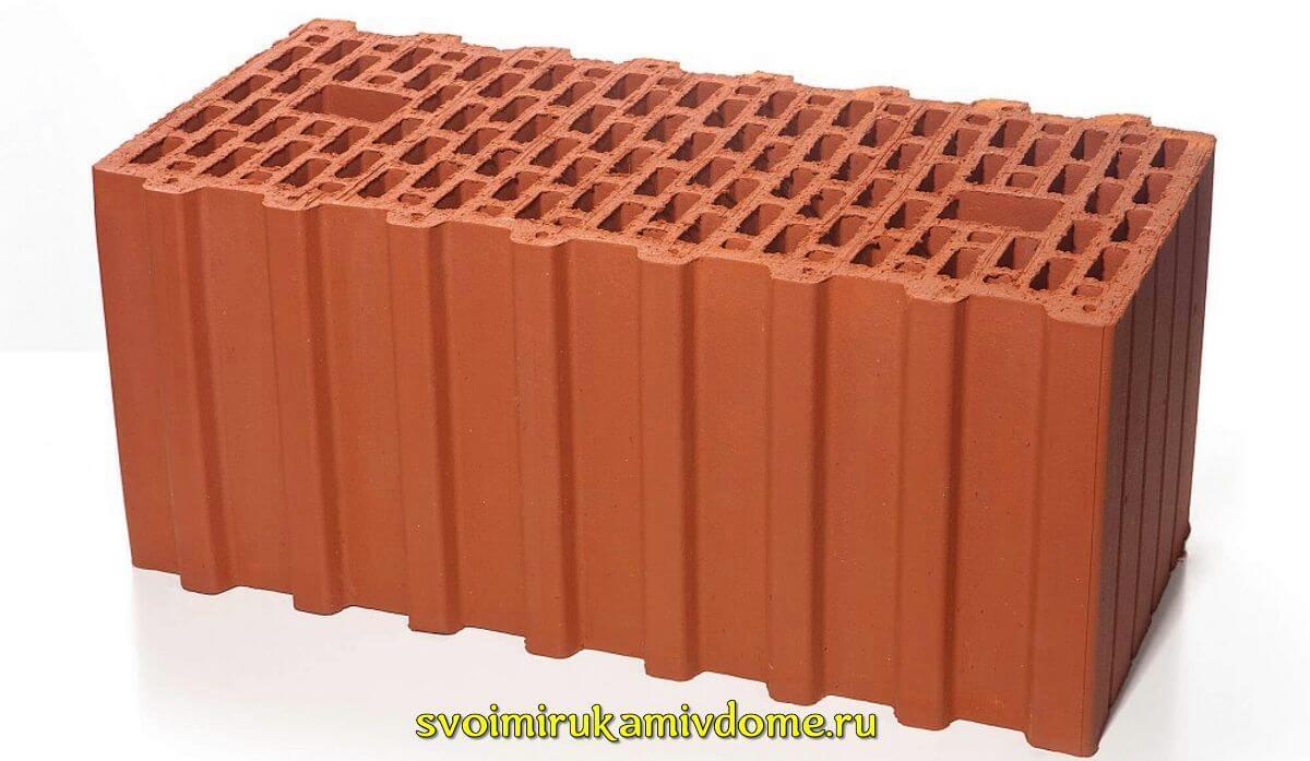 Керамические блоки, керамоблоки для строительства дома