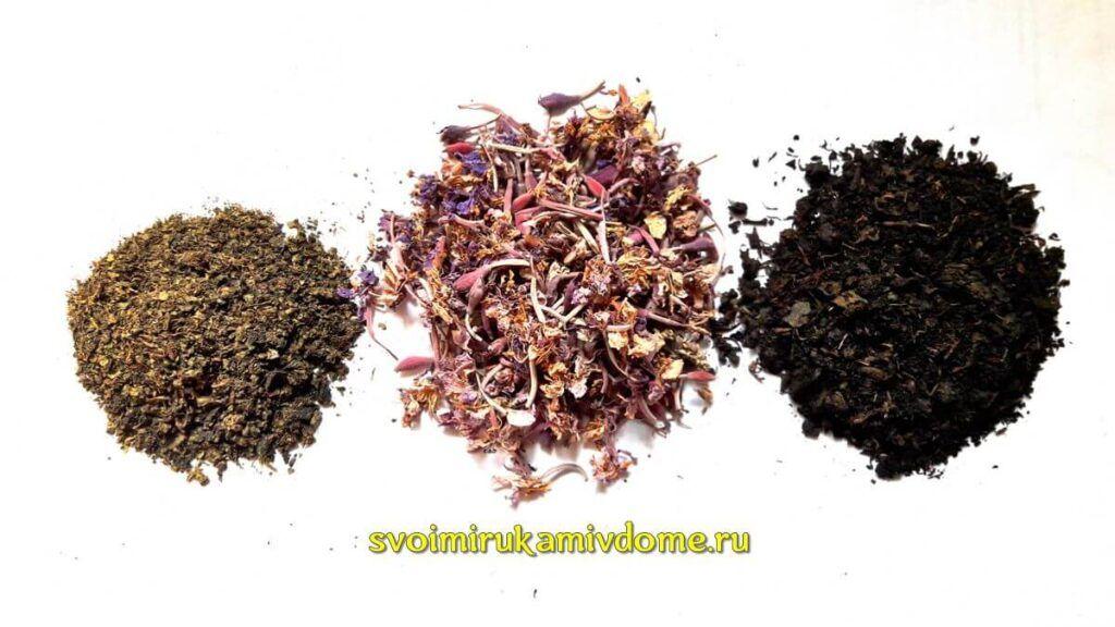 Кипрей, иван-чай из листьев, цветков