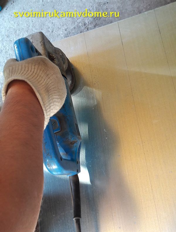 Резка металла электрическими ножницами