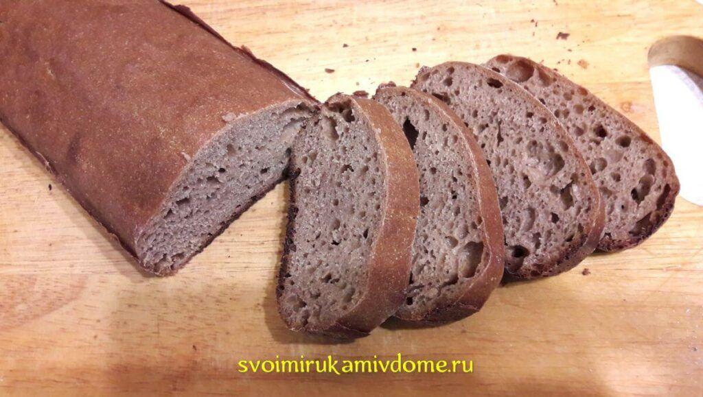 Первый мой ржаной хлеб
