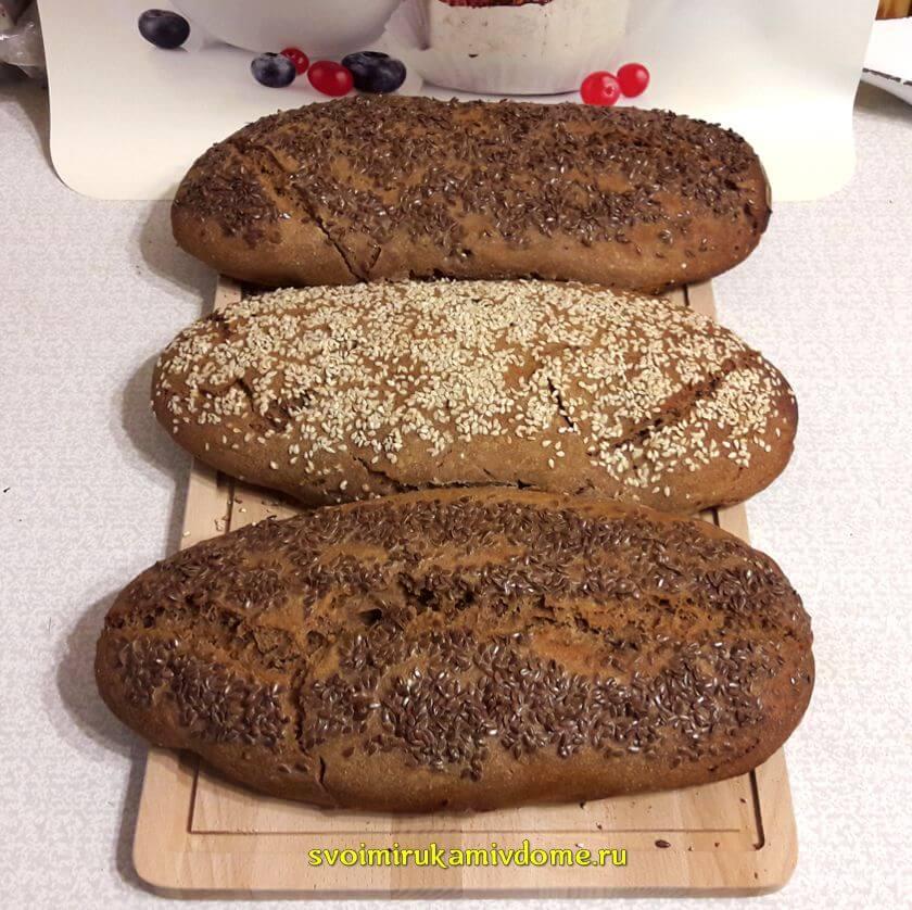 Латвийский подовый кисло-сладкий хлеб